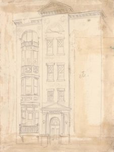 1949 Hartford etc Graphite on Paper 10.25 x 7.6875