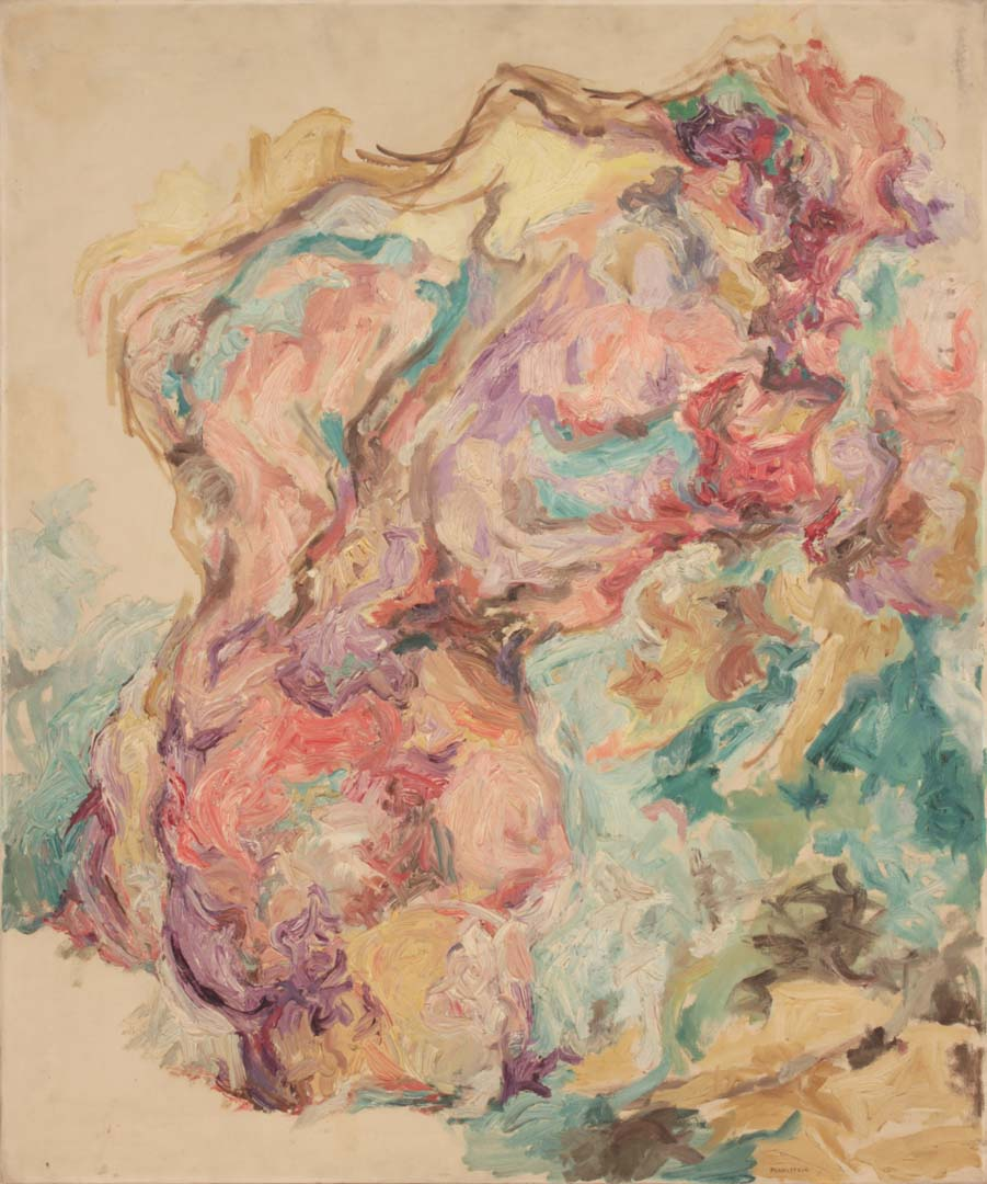 "1953 Torso Oil on Canvas 36"" x 30"""