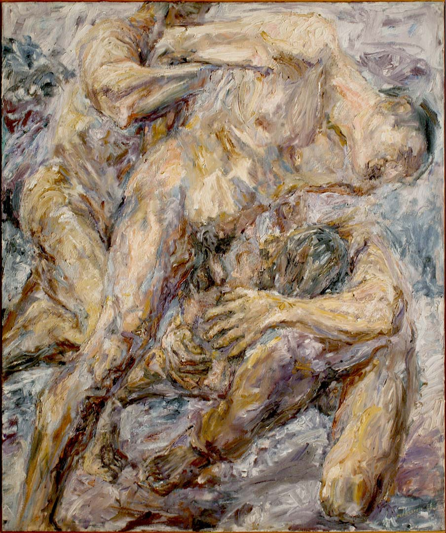 "1954 The Capture Oil on Canvas 48"" x 40"""