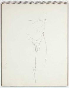 1961 NT (SB #22) Wash on Paper 14 x 11
