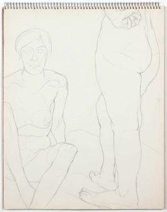 1961 Untitled Graphite 14 x 11