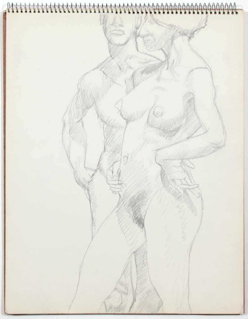"1961 Untitled Graphite 14"" x 11"""