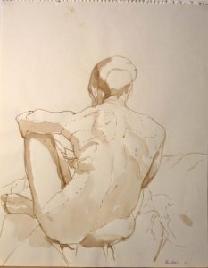 1962 Study for Oil Painting