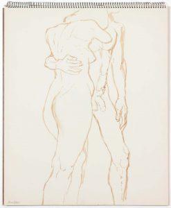 1962 Untitled Wash 17 x 14