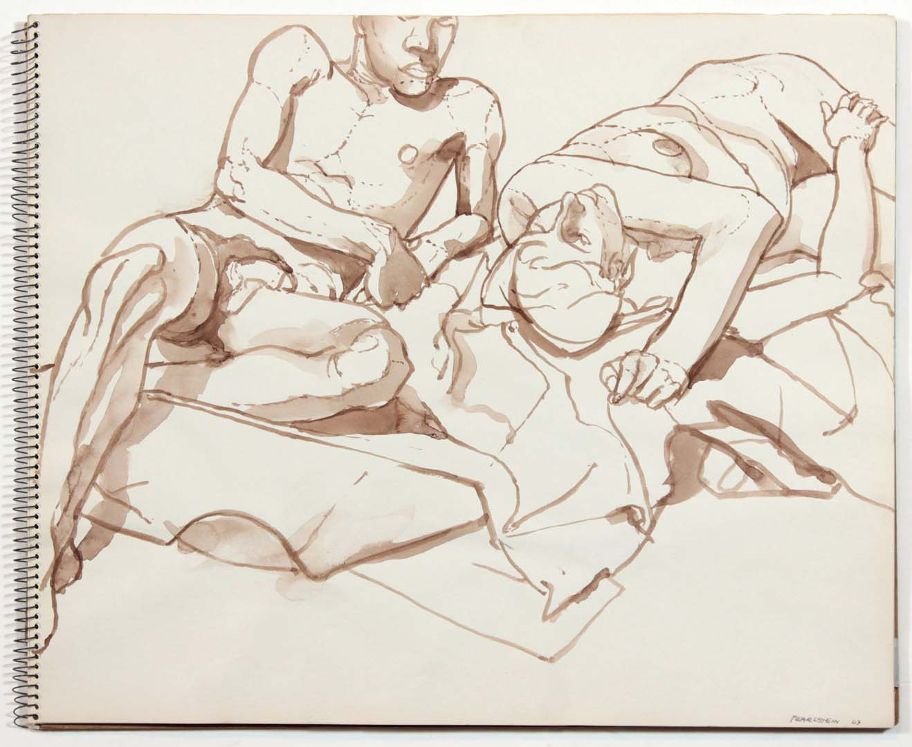 1963 Untitled Wash 14 x 17