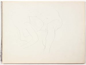 1965 NT Graphite 18 x 24