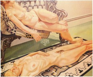 1973 Two Reclining Female Models