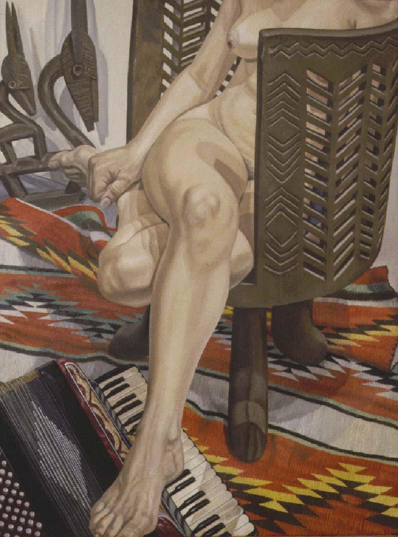"1995 Chevron #3 Oil on Canvas 48"" x 36"""