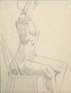 Untitled Pencil 13.25 x 10.5