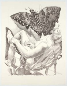 2006 Butterfly Kite II (Duotone) Lithograph on Paper 36.75 x 28.5