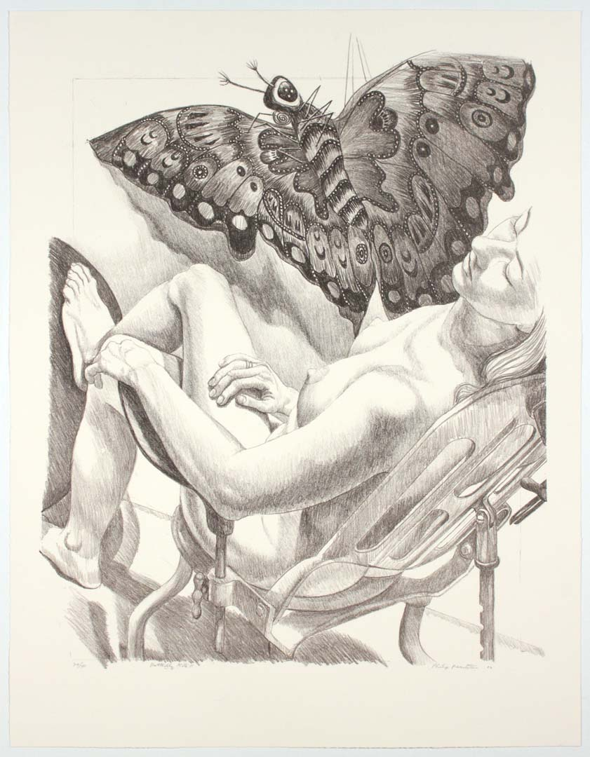 "2006 Butterfly Kite II (Duotone) Lithograph on Paper 36.75"" x 28.5"""