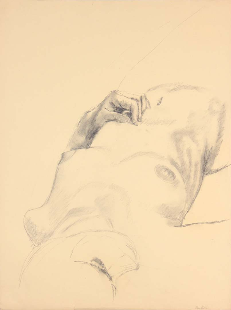 Reclined Model Graphite 24 x 17.875