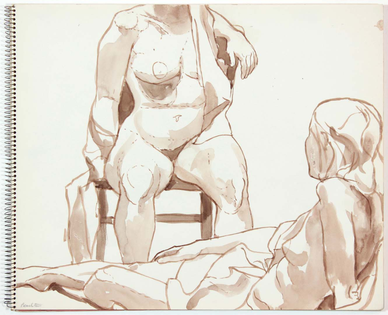 Untitled Wash 14 x 17