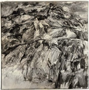 1954 Landscape #3 Oil on Canvas 38 x 38