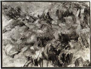 1954 Misty Mountain Oil on Canvas 37.25 x 49.5