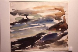 1954 Montauk #1 Watercolor on Paper Dimensions Unknown