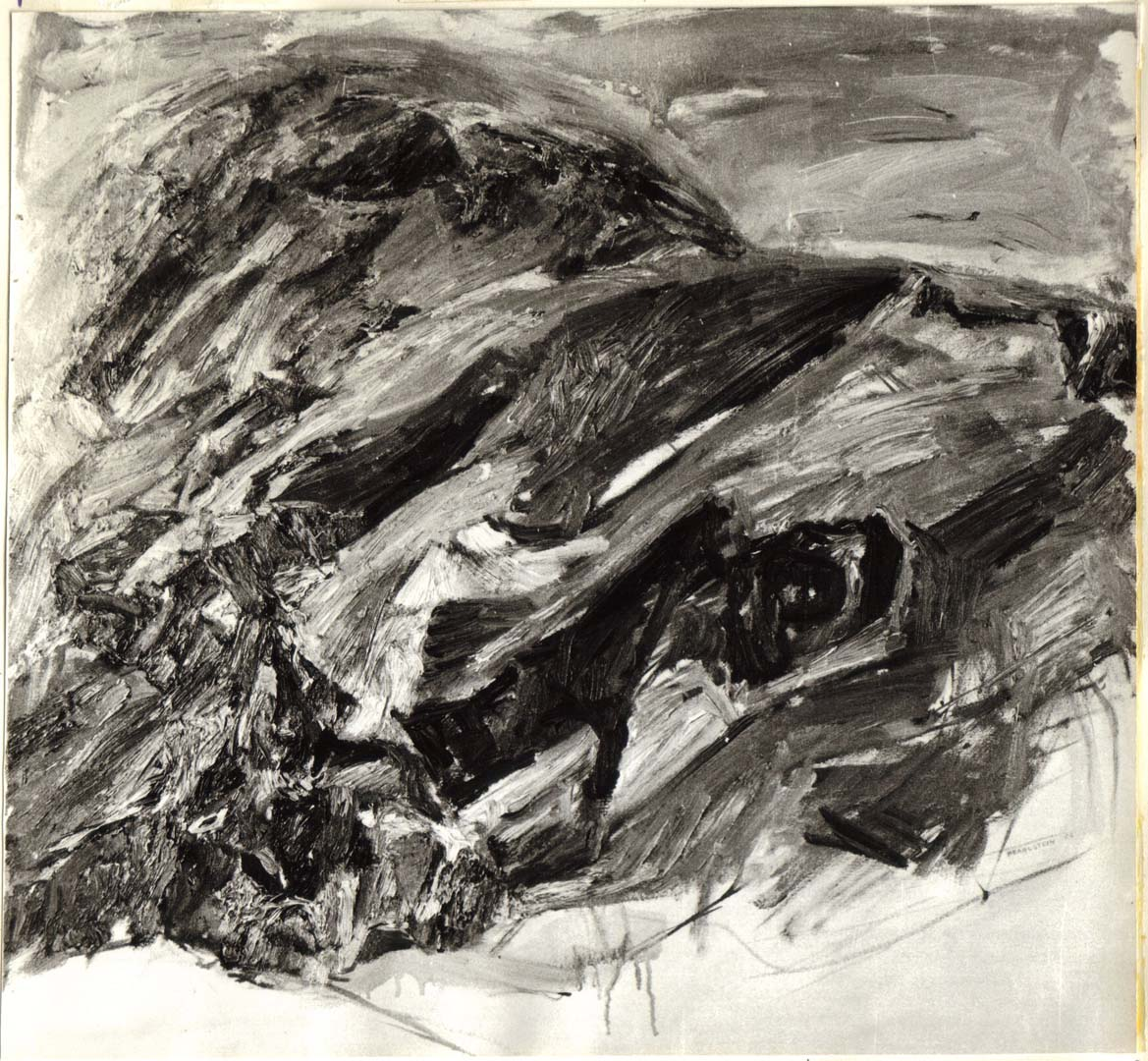 1954 Windswept Oil on Canvas Dimensions Unknown