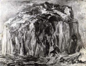 1955 Landscape #1 Oil on Canvas 30 x 40