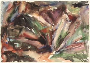1955 Montauk #11 Watercolor on Paper 15.125 x 22.125