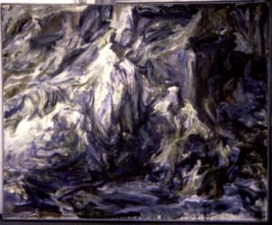 1955 Rocks Oil on Canvas Dimensions Unknown