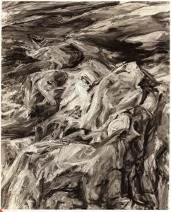 1956 Rocks and Sea Oil on Canvas 52 x 40