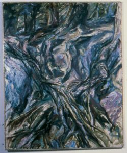1957 Tree Roots Oil on Canvas 50 x 40