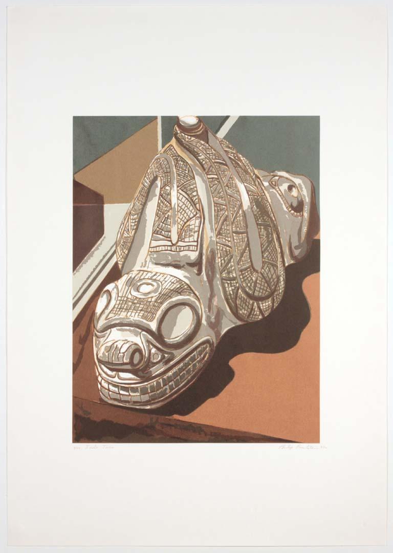 1992 Idolo Taíno Print