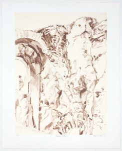 2011 Imperial Palace #7 Lithograph on Paper 24.625 x 20