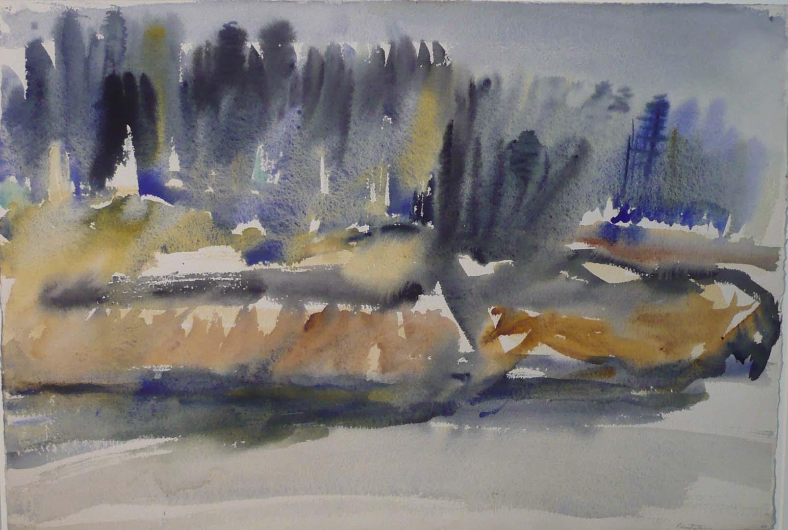 Deer Isle #1 Watercolor on Paper