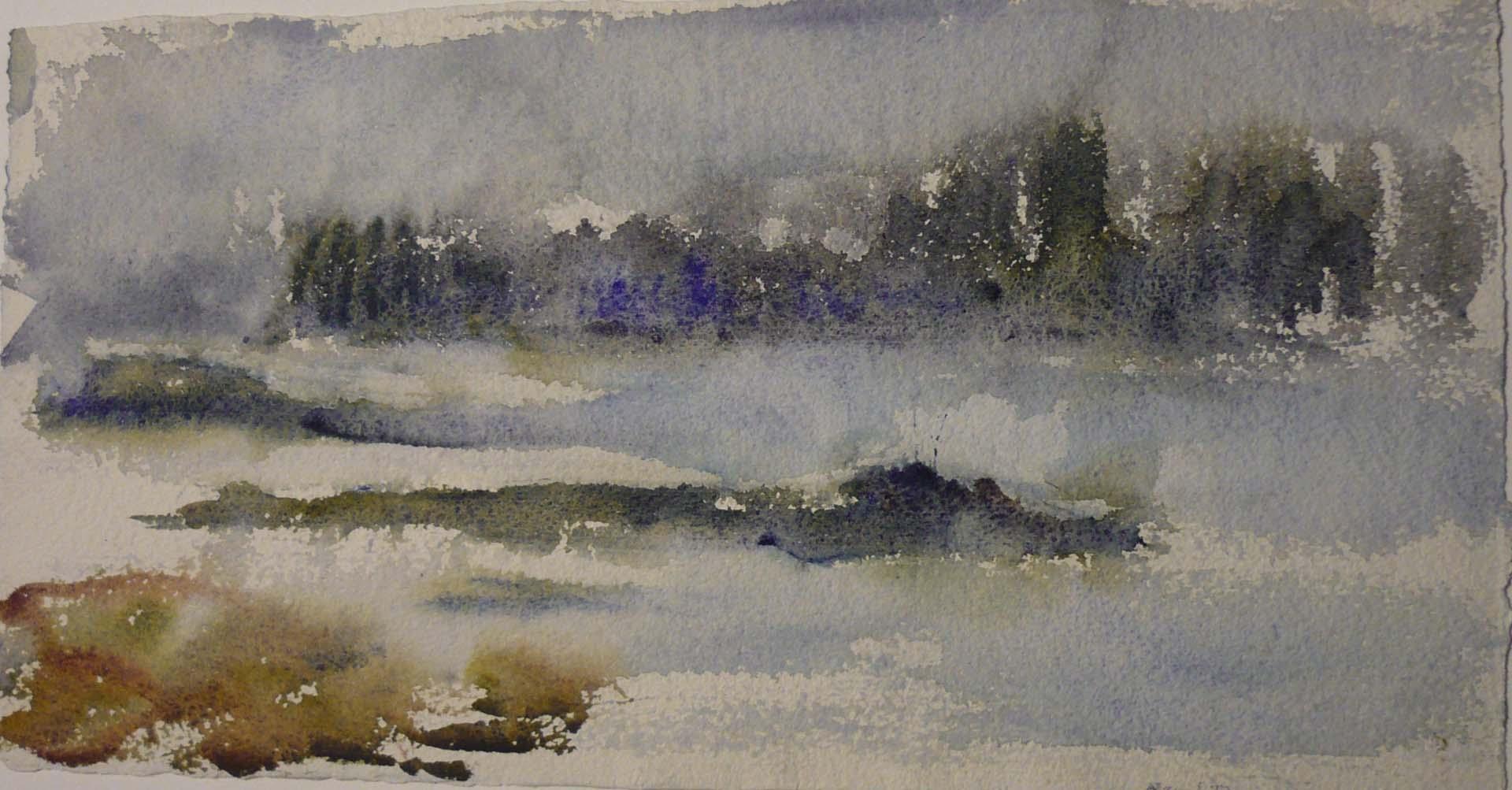Deer Isle 2 Watercolor