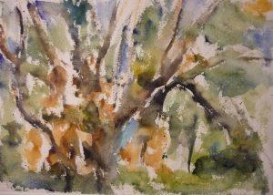 Deer Isle #4 Watercolor on Paper