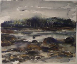 Deer Isle #7 Watercolor on Paper