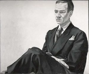 1966 Alex (Portrait of Alex Katz) Oil on canvas 29.5 x 36