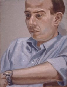 1966 Portait of Jerome Viola Oil on canvas 20 x 15
