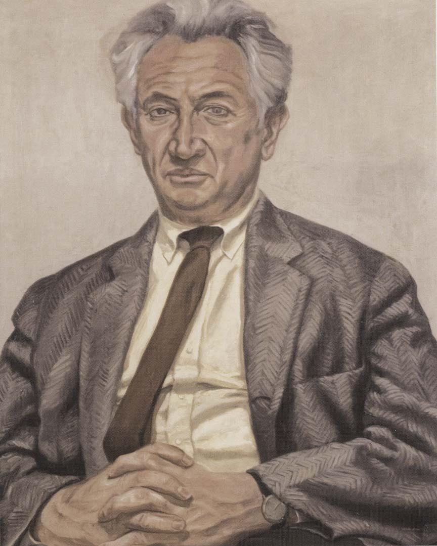 1966 Portrait of Leonard Bocour (book scan) Oil on canvas 40 x 30