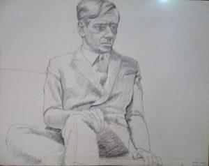 1966 Richard Diebold 2 Pencil 22.5 x 28.5