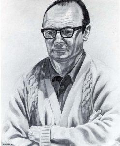 1967 David Spelman Oil on canvas 36 x 30.5