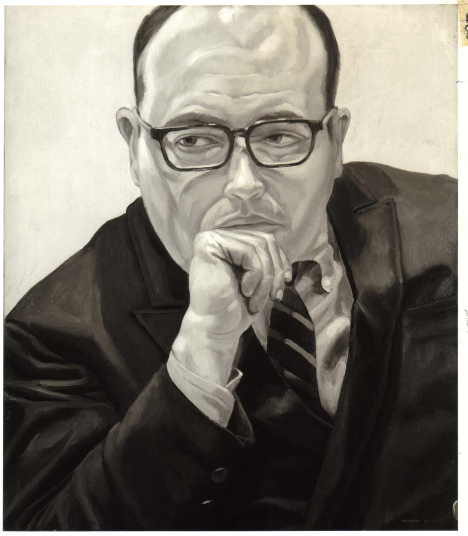 1968 Portrait of Robert Schoelkopf Oil on canvas 26 x 22