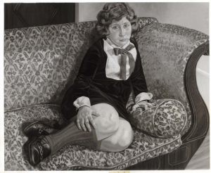 1970 Portrait of the Artist's Daughter (Julia) Oil on canvas 40 x 60