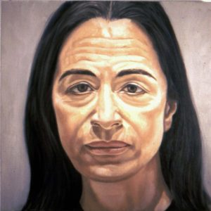 1974 Portrait of Ada Katz Oil 16 x 16