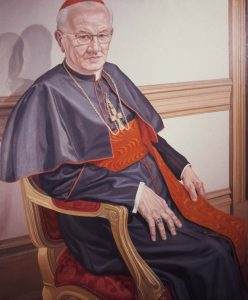 1976 Cardinal J. Krol Oil Dimensions Unknown