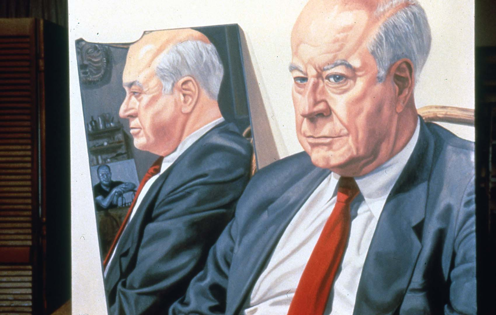 1982 Portrait of Adam Aronson Oil on canvas Dimensions Unknown