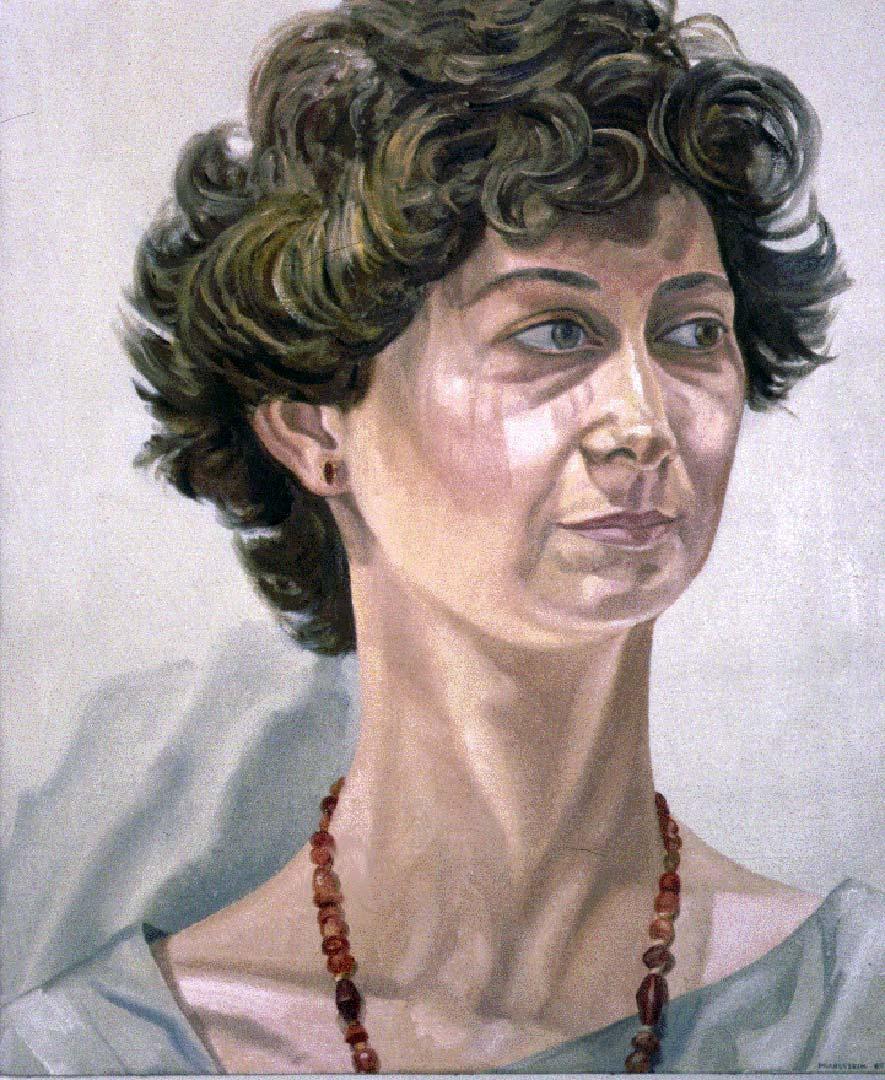 1985 Portrait of Linda Schifando Oil Dimensions Unknown