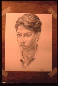 1988 Portrait of Jacob Pencil Dimensions Unknown