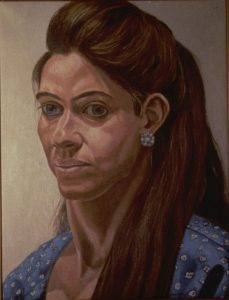 1988 Portrait of Leslie Buchbinder Oil on canvas 16 x 20