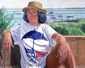 1988 Portrait of Lucy Suarez Oil 48 x 60