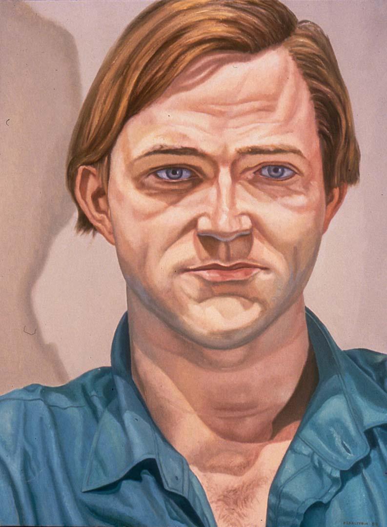 1988 Portrait of Rob Storr Oil 30 x 28