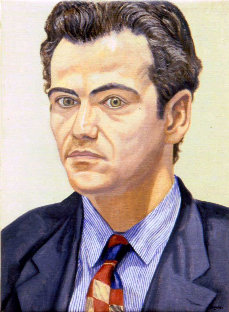 1992 Portrait of Franz Von Rassler Oil on canvas Dimensions Unknown