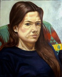 1997 Portrait of Sara Miller Oil 30 x 24
