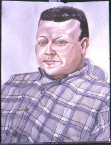 2001 Portrati of James Nunemaker Oil 40 x 30